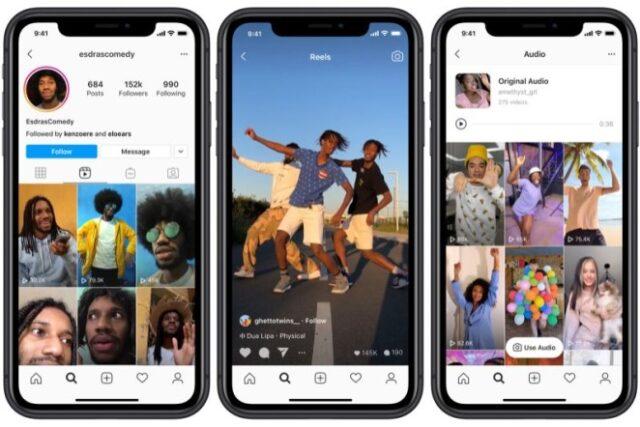 Reels, la nueva función de Instagram que busca competir con TikTok