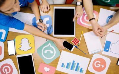 Un enlace para compartir tus redes sociales y sitio web